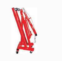 foldable workshop crane 1Ton Hydraulic Foldable Shop Crane/Engine Hoist 1 Ton