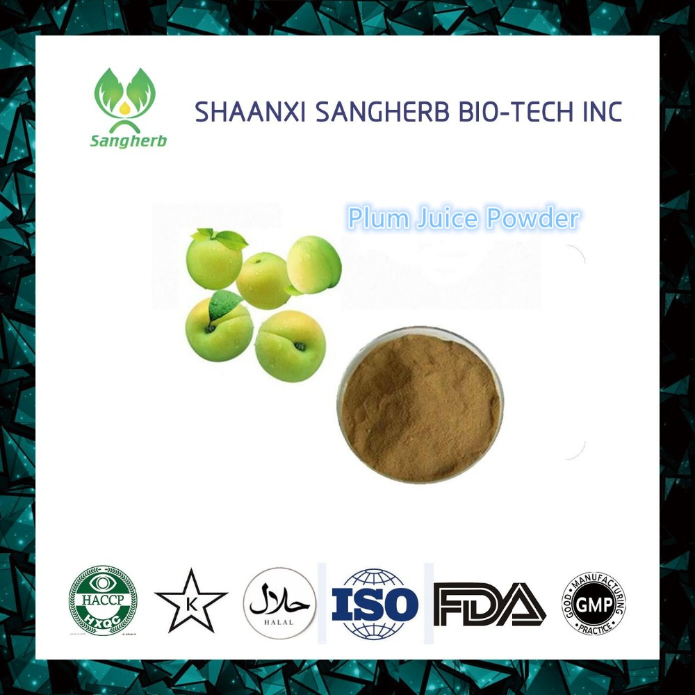 100% natural prune extract/dried plum / prune juice powder