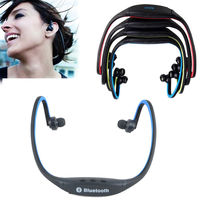 S9 Neckband Bluetooth Earphone Handsfree Wireless Sport Headphone With Micphone For GYM Sport Running