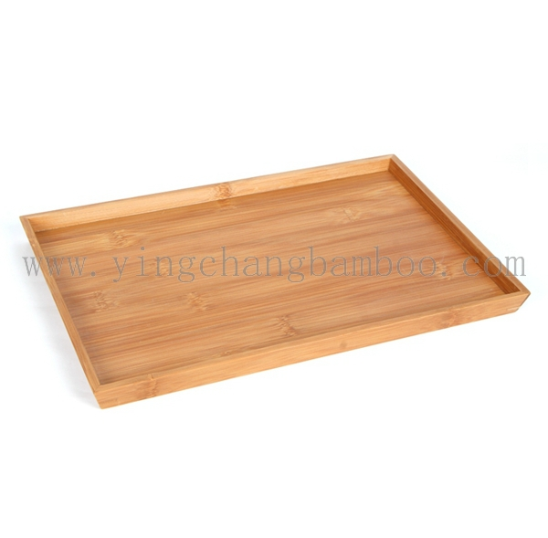 Cheap bamboo wooden snack or sauce plate