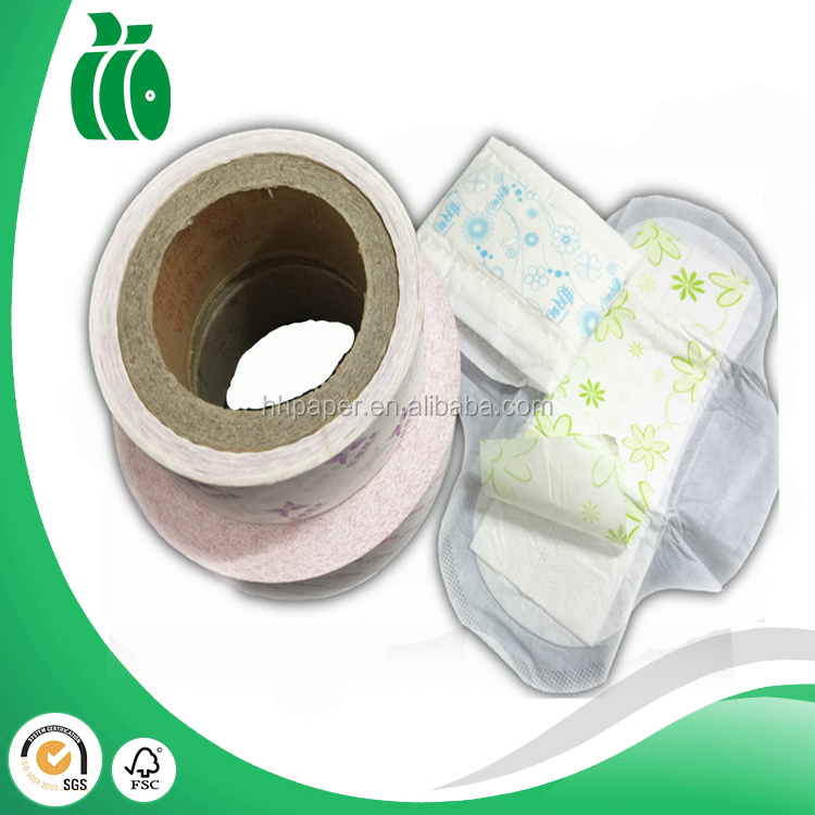 sanitary towel, sanitary pad release paper, low price silicon paper