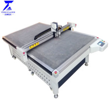home oscillating knife roll fabric sample layer cutting machine price for garment
