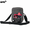 ONE2 Design best selling dog single shoulder messenger striped bag for teenager girls