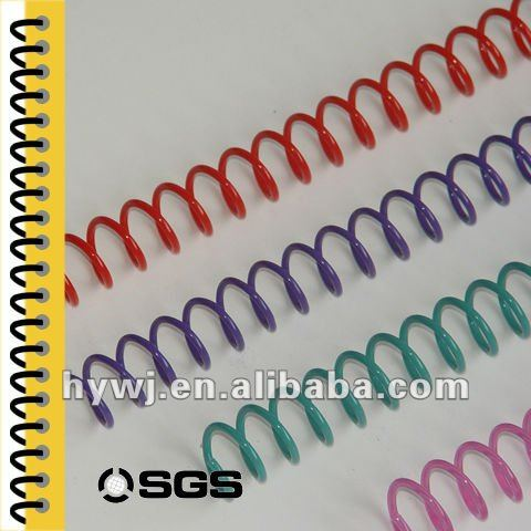 spiral coil binding for book thickness from 3mm to 43mm