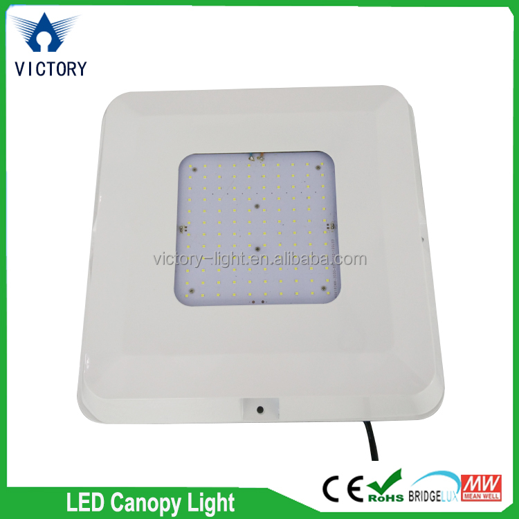 high lumen led canopy lights 130w 150w, 130lm/w IP65 led canopy light for gas station