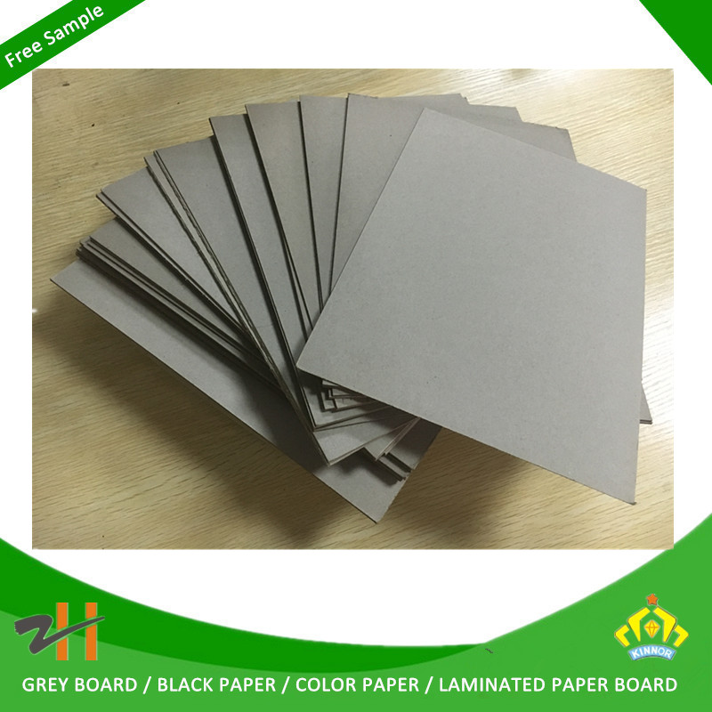 1.5mm thick book binding cover material with grey paperboard
