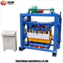 QT4-40,manual small concrete brick making machine from china