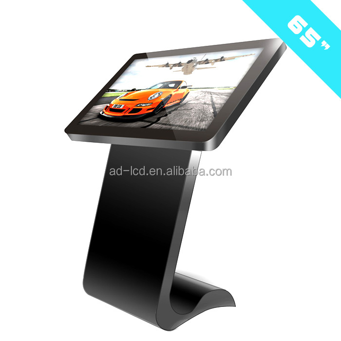 "interactive displays 65 inch stand lcd tvs 55"" professional full color hd lcd tv touch table"