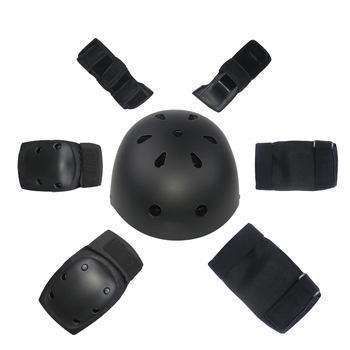OEM electric skateboard safety protective knee elbow wrist pads 6pcs/set