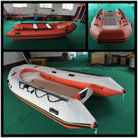 NEW!!! Hypalon fiberglass ribs with boat tube cover HLB380