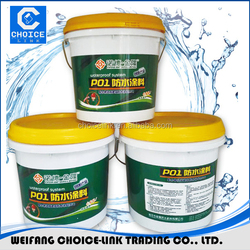 Two component cementitious waterproofing coating