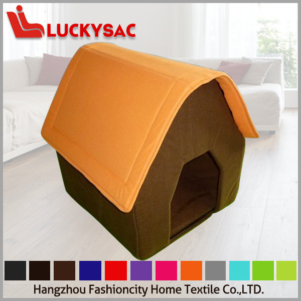 wholesale warm dog house , fashion indoor dog house bed designs