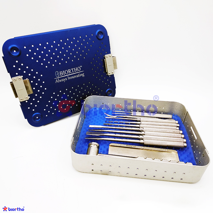 veterinary orthopedic instruments Trochlea Rectangular Sulcoplasty Instruments Set,orthopedic implants,orthopedic instruments