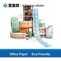High Quality Custom semi glossy Self Adhesive Sticker Paper in Sheets