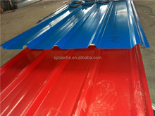 Supply building materials corrugated galvanized color steel roof panels
