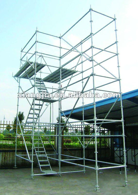 Hot sell Ring lock qualcraft ultra jack scaffolding system staging