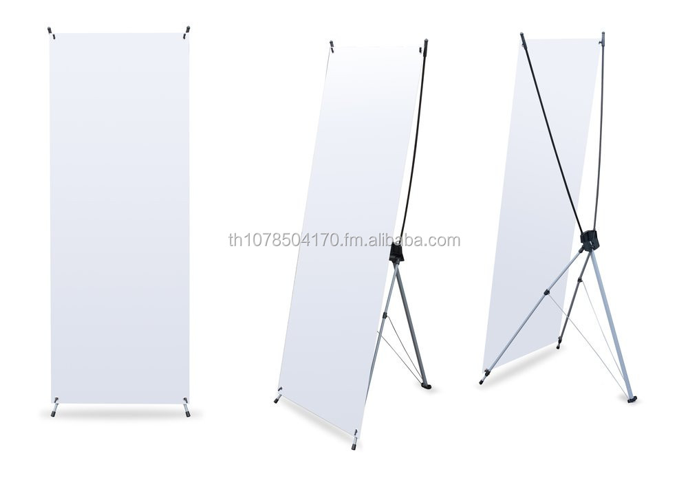 High quality X Banner Stand Native English/ German/ French/ Thai/ Turkish Contact TOP !!!
