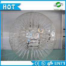 2016 Hot sale! baby zorb ball, inflatable human ball, human rolling ball