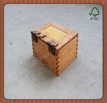3 tier wooden essential oil packaging boxes with tray wood boxes
