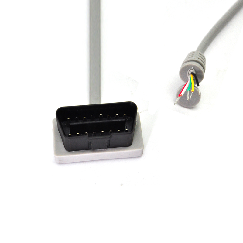 new design Flat noodel cable OBD2 Cable 16 Pin