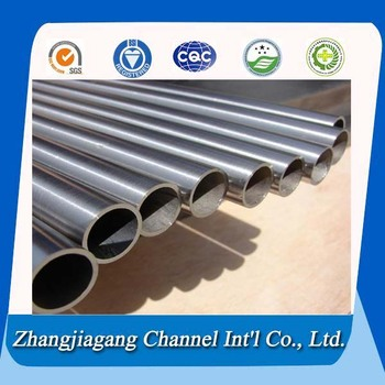 ASTM B338 hot sale welded titanium tube supplier