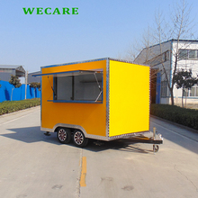 Top quality outdoor fast food mobile kitchen trailer for sale