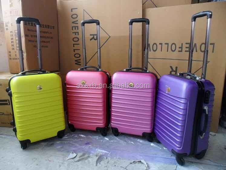 2015 fashionable cool luggage cheap trolley 20 24 28 suitcase cute cheap suitcases