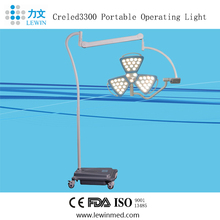 Hospital Medical Equipment Mobile Led Surgical Examination Lamp