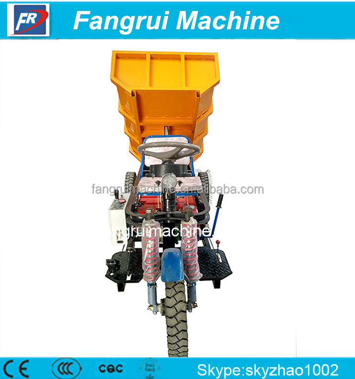 Convenient electric tricycle of good quality used in brick kiln