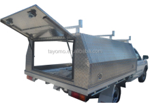 Weather Proof Aluminum Ute Canopy Special Design