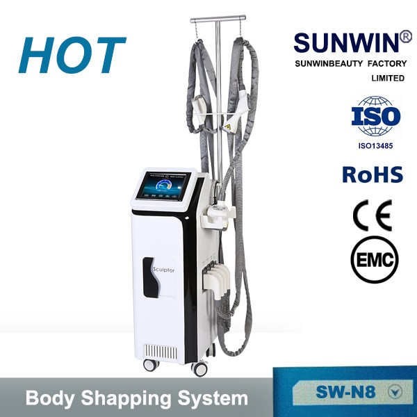 Factory Price best effect velashape 3 ultrasound RF vacuum 40K cavitation slimming machine