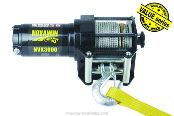 drum winch for ATV/UTV application electric 12V NVK3000