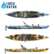 4.3m fishing kayak PE hull kayak da pesca made in China