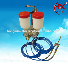 HX-800 Double Insulated Liquid Bottle High Pressure Epoxy Resin Injection Machine Grout Pump