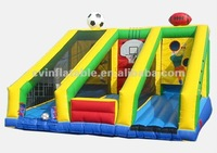 Inflatable Sports Game -Football/Rugby/Soccer/Basketball