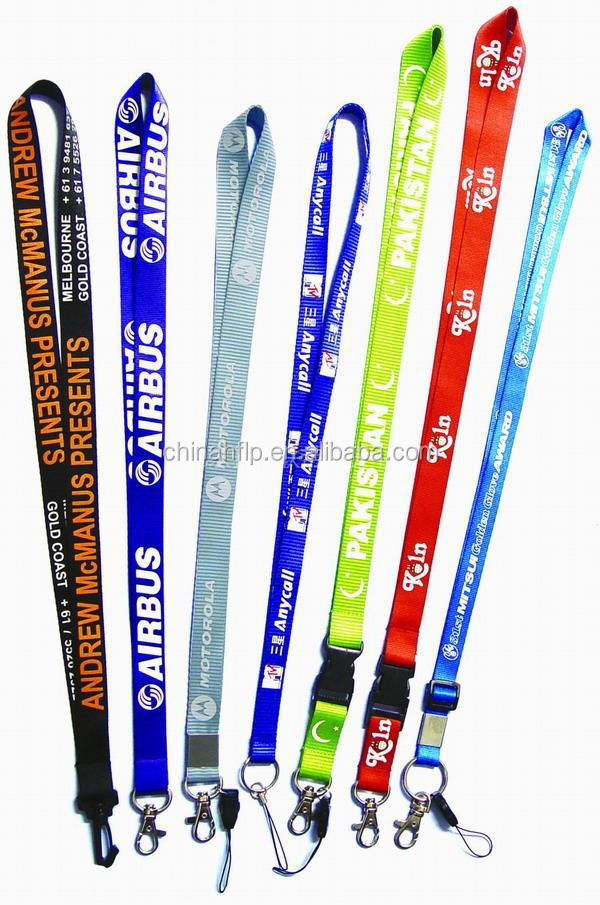Wholesale cheap custom printed neck card holder lanyard