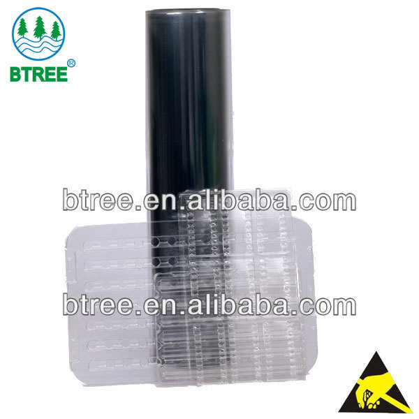 Btree Antistatic Clear Plastic Sheet Thermoforming