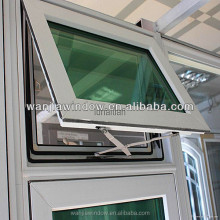 pvc smart windows tilt and turn double open type window