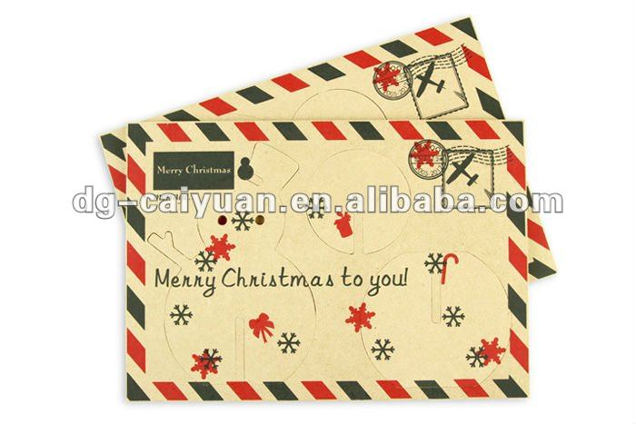 Envelope for gift cards