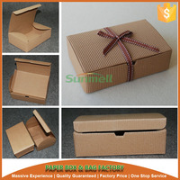 natural kraft cake roll boxes suit for swiss roll