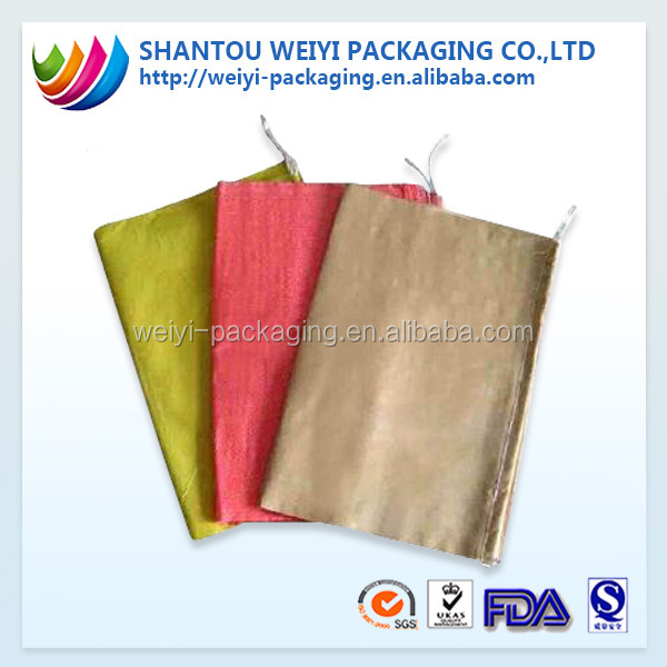 High quality customized cement animal feed sack