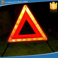 Flashing Highlight Reflective Warning Triangle 3M Road Reflector for Emergency
