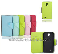 new arrival pu leather case for samsung galaxy s4