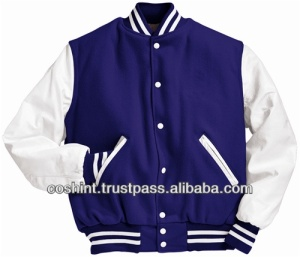 Leather Varsity jackets/mens custom nylon baseball jacket/girls baseball jacket varsity jackets
