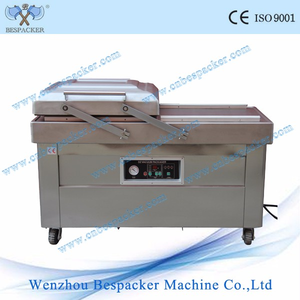 DZ-400 2SB double chamers chicken vacuum packing machine