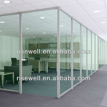 soundproof material/glass office partitions
