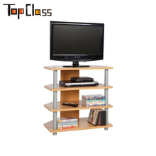 2018 new style modern tv stand wooden tv rack designs