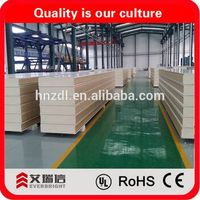 2016 hot sale PU cold room sandwich wall panel
