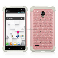 2015 hot selling bling cell phone cover with diamond case for LG OPTIMUS L9 P769
