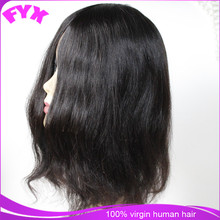 Injection knot women toupee virgin human remy hair no tangle pu skin women hair pieces